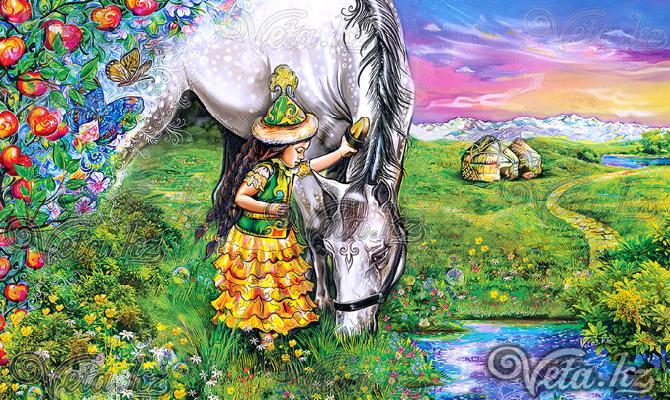 Живописные сказания коллекция картин автора Veta.kz