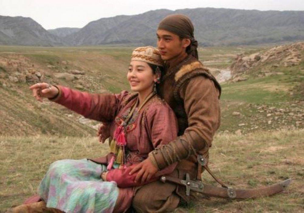 Казахские любовные картинки