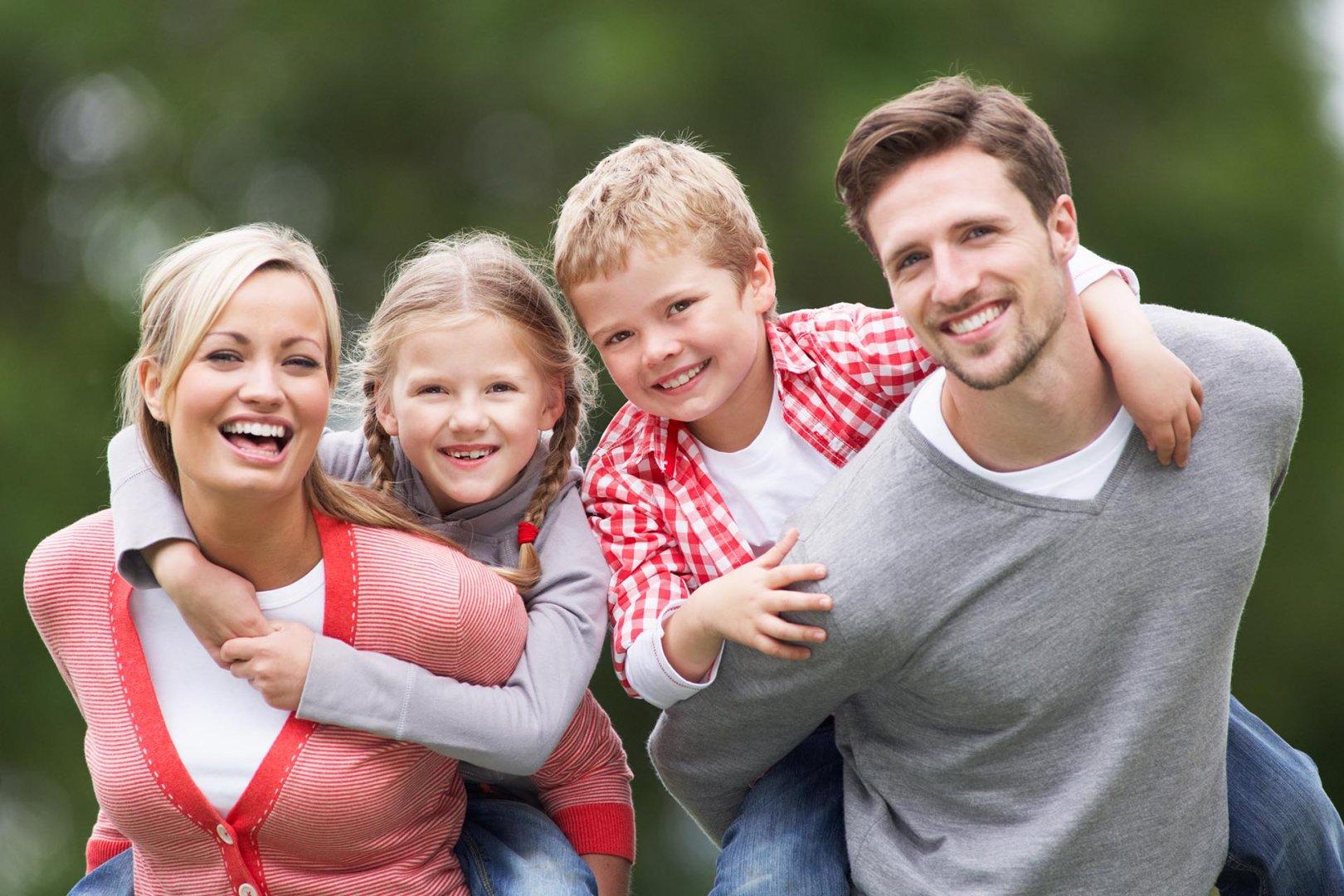 Чистым четвергом, картинки счастливые дети и родители