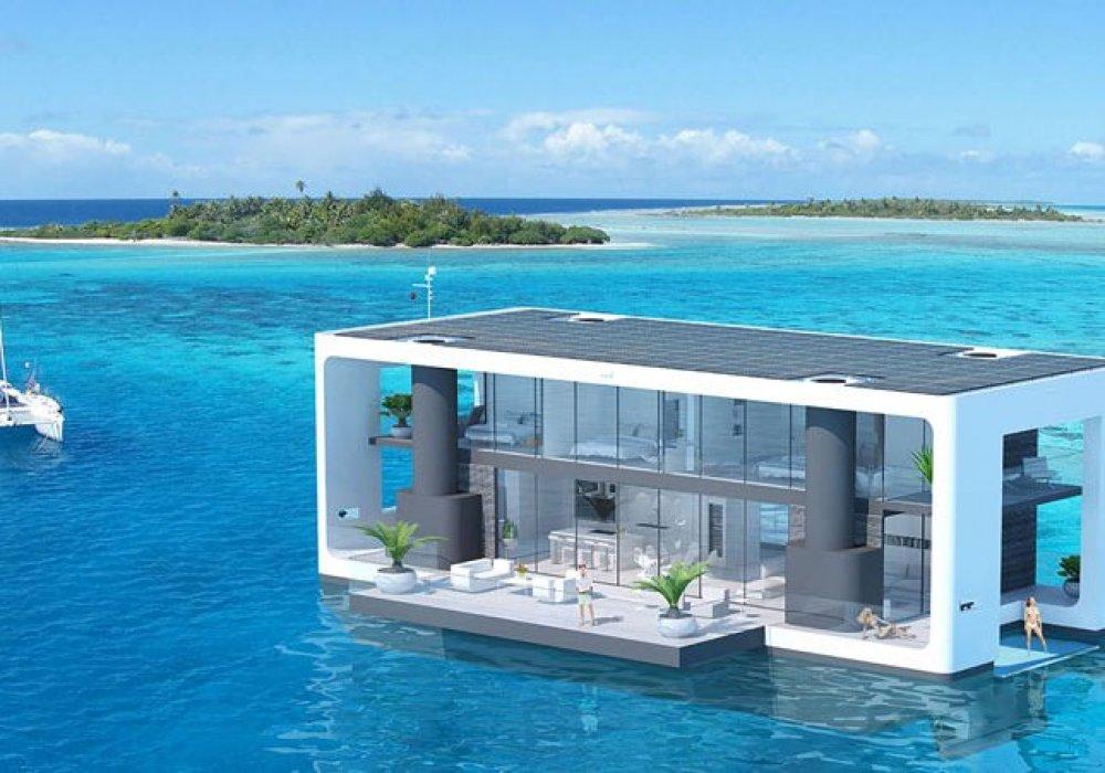 Плава��ий дом � quotногамиquot п�ид�мали дизайне�� США МИКС